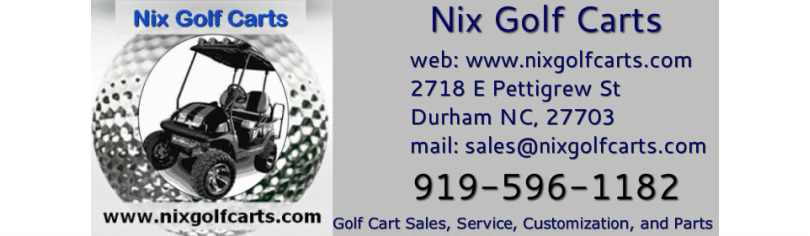 Nix Golf Carts - Welcome to Nix Golf Carts in Durham NC Golf Cart Air Boat on golf carts pull type, golf car boat, shoes boat,